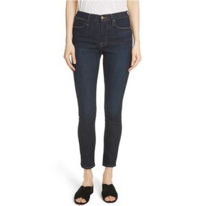 Frame Le High Crop Skinny Jeans size 28